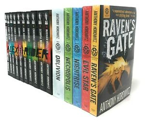 Anthony-Horowitz-15-Books-Collection-Alex-Rider-amp-Power-of-Five-Series-Set-Pack