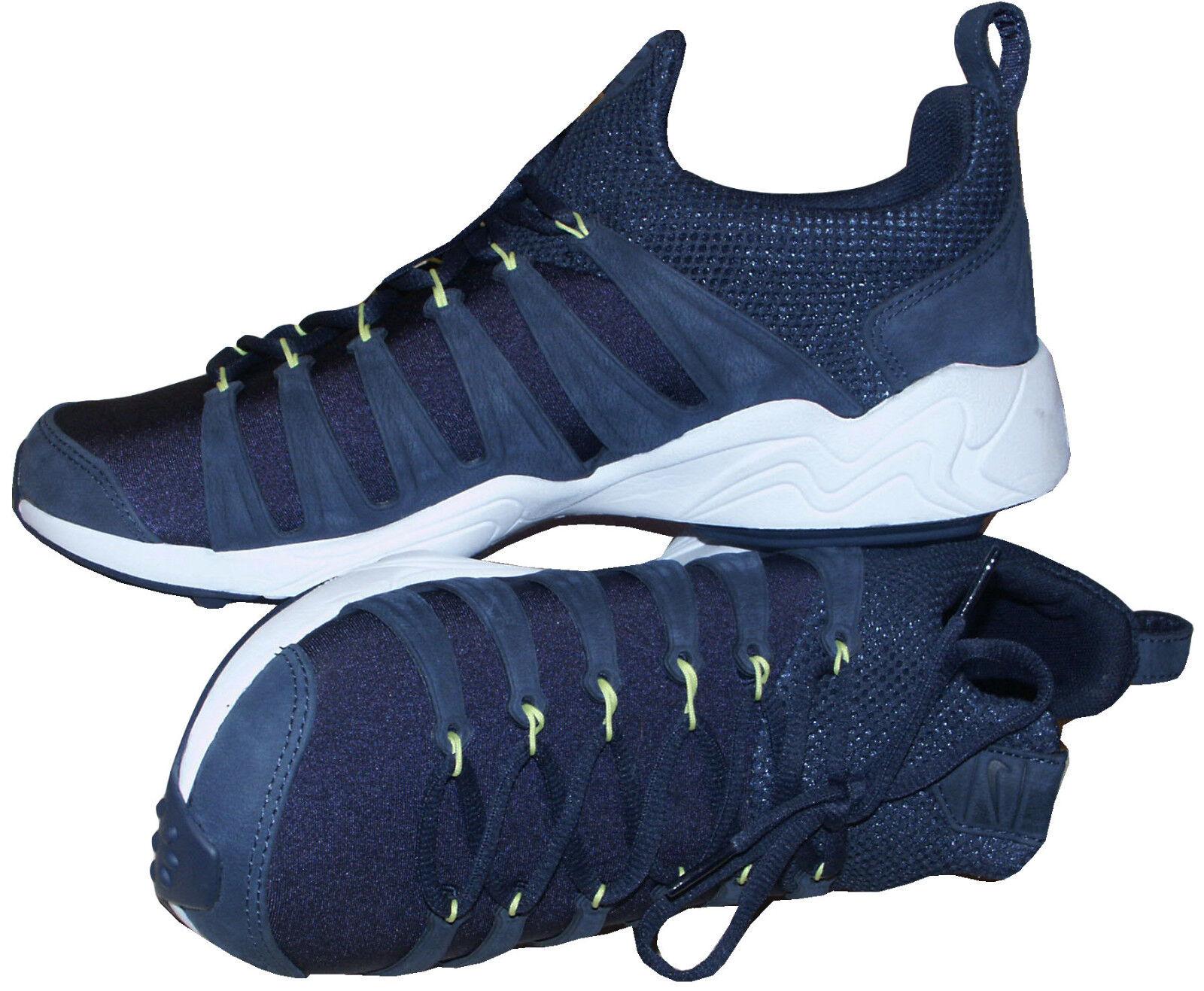 NIKE NAVY AIR ZOOM SPIRIMIC LIGHTWEIGHT NAVY NIKE TRAINERS / Chaussures RARE SZ:UK8 EU42.5 US9 544660