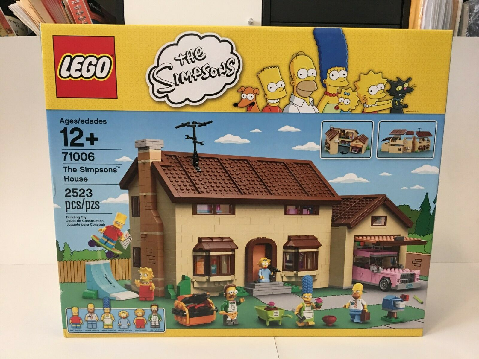 nuovo  LEGO The Simpsons 71006 The Simpsons House Factory Sealed Retirosso   consegna rapida
