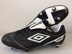 Umbro Classico Football Boots Adult UK 4 8 10 Black & White T162 | eBay