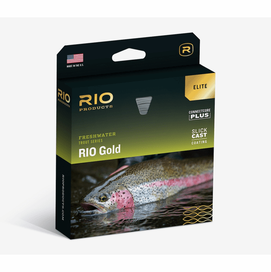 NEW ELITE RIO GOLD NEW WF-6-F #6 WEIGHT FORWARD FLOATING FLY LINE W/ SLICKCAST