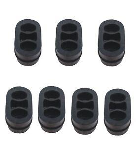 2 x neu OPEL ASTRA F Auspuff Gummi Halter Abgasanlage