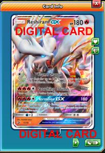 READ FIRST Digital Card Blacephalon GX 52//214 Regular Art Pokemon PTCGO