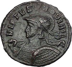 PROBUS-Authentic-Rare-Ancient-Roman-Coin-Ticinum-mint-Security-Cult-i50237