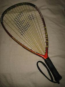 """E-Force Arsenal Racquetball Racquet 22"""" Longstring 4"""" Grip"""