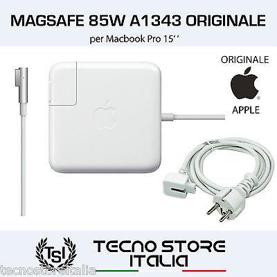 Alimentatore Apple ORIGINALE Magsafe 85W A1343 Carica Batteria per MacBook Pro