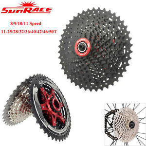 Sunrace-8-9-10-11-Speed-Cassette-MTB-Road-Bike-Wide-Ratio-Shimano-SRAM-Freewheel