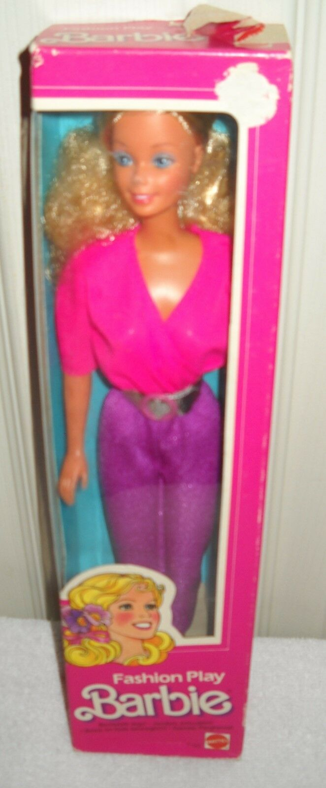 Nunca quitado de la Caja Juego De Moda Vintage Mattel Barbie problema extranjeros