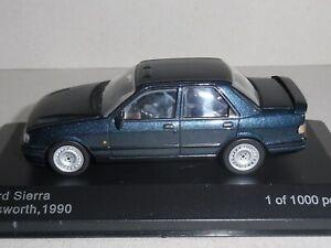 Whitebox-WB-236-039-Ford-Sierra-Cosworth-1990-039-Metalico-Azul-Verde-escala-1-43