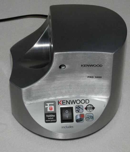 1600 W Kenwood MG510 Meat Grinder Silver