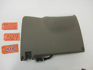 tucson knee kick panel lower dash trim cover steering column fuse image is loading tucson knee kick panel lower dash trim cover