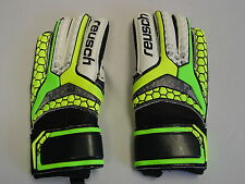 New Reusch Soccer Goalie Gloves Pulse SG Finger Support Protection JR 6 3672827S