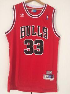 Caricamento dell immagine in corso Canotta-nba-basket-Scottie-Pippen-jersey- Chicago-Bulls- 92ce6921119c