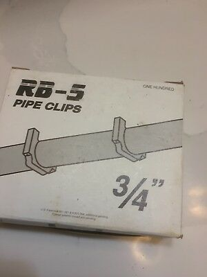 """Box of 100 P6BK 3//4/"""" PEX Stand-Off Pipe Clips Peter Mangone for RB-5 RB-6"""