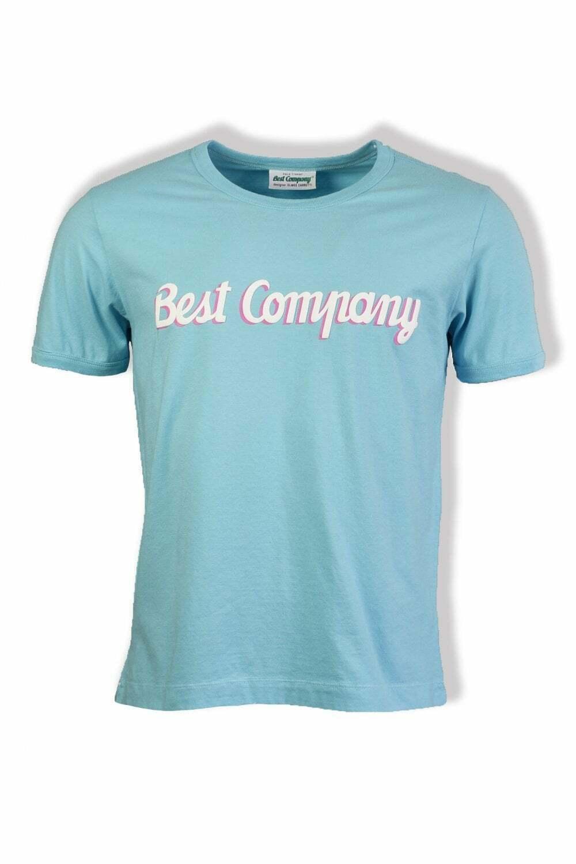 BEST Company di base a maniche corte t-shirt (blu)
