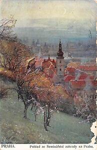 B13199-Czech-Praga-Praha-Pohled-ze-Seminarske-zahrady-na-Prahu