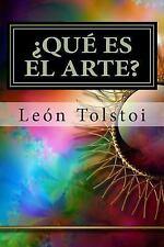 ¿Qué Es el Arte? by Leo Tolstoy (2015, Paperback)