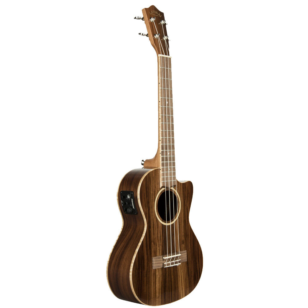 Lanikai MRS-CET MRS-CET MRS-CET All Solid Morado Cutaway Tenor Acoustic Electric Ukulele + Bag 3f2f87