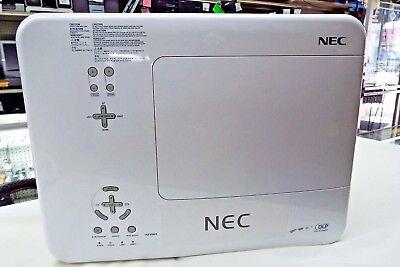 NEW LAMPS! NEC NP4001 DLP HD Widescreen Large Venue Projector 4500 LUMENS