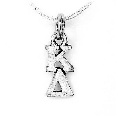 Kappa Delta Sorority Lavalier with Chain