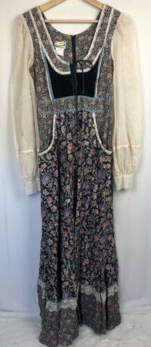 Gunne Sax San Francisco RARE Vintage Prairie Dress