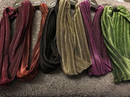 Paillettes Cheveux Bandeaux Tissu Couleur Bandeau Hairband Brillant Band Bandeau