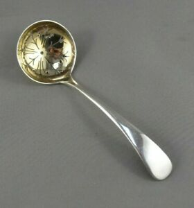 Old English by Towle Sterling Silver Sugar Sifter Ladle Gold Washed 6