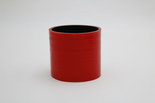 """Red ID 70mm 2 3//4/"""" Straight Silicone Coupler Hose Intake Intercooler Turbo Pipe"""