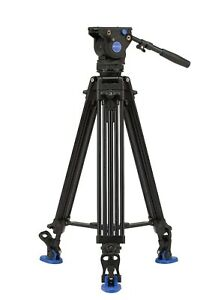 BENRO-BV6-21-Kit-Pro-Trepied-Tete-Video-Fluide-Capacite-6Kg