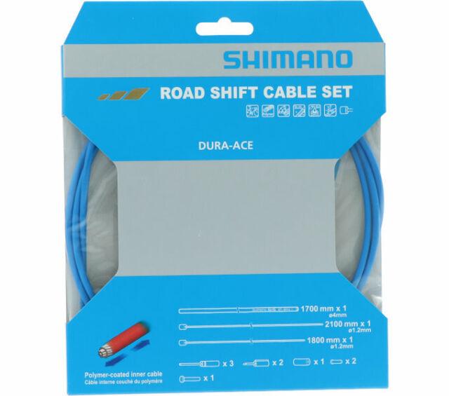 SHIMANO Schaltzug-Set Road polymerbeschichtet, Edelstahl, polymerbeschichtet, 1x