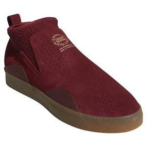 adidas-ORIGINALS-3ST-002-TRAINERS-SKATEBOARDING-MEN-039-S-BURGUNDY-SNEAKERS-SHOES