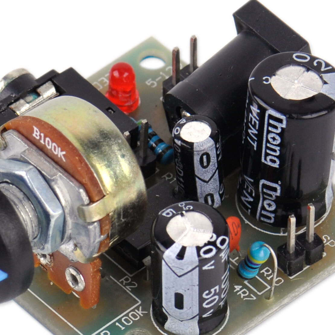 Adjustable Dc 3v 12v Lm386 Mini Micro Audio Amplifier Amp Module Audioamp Board The Features A Power Volume Ebay