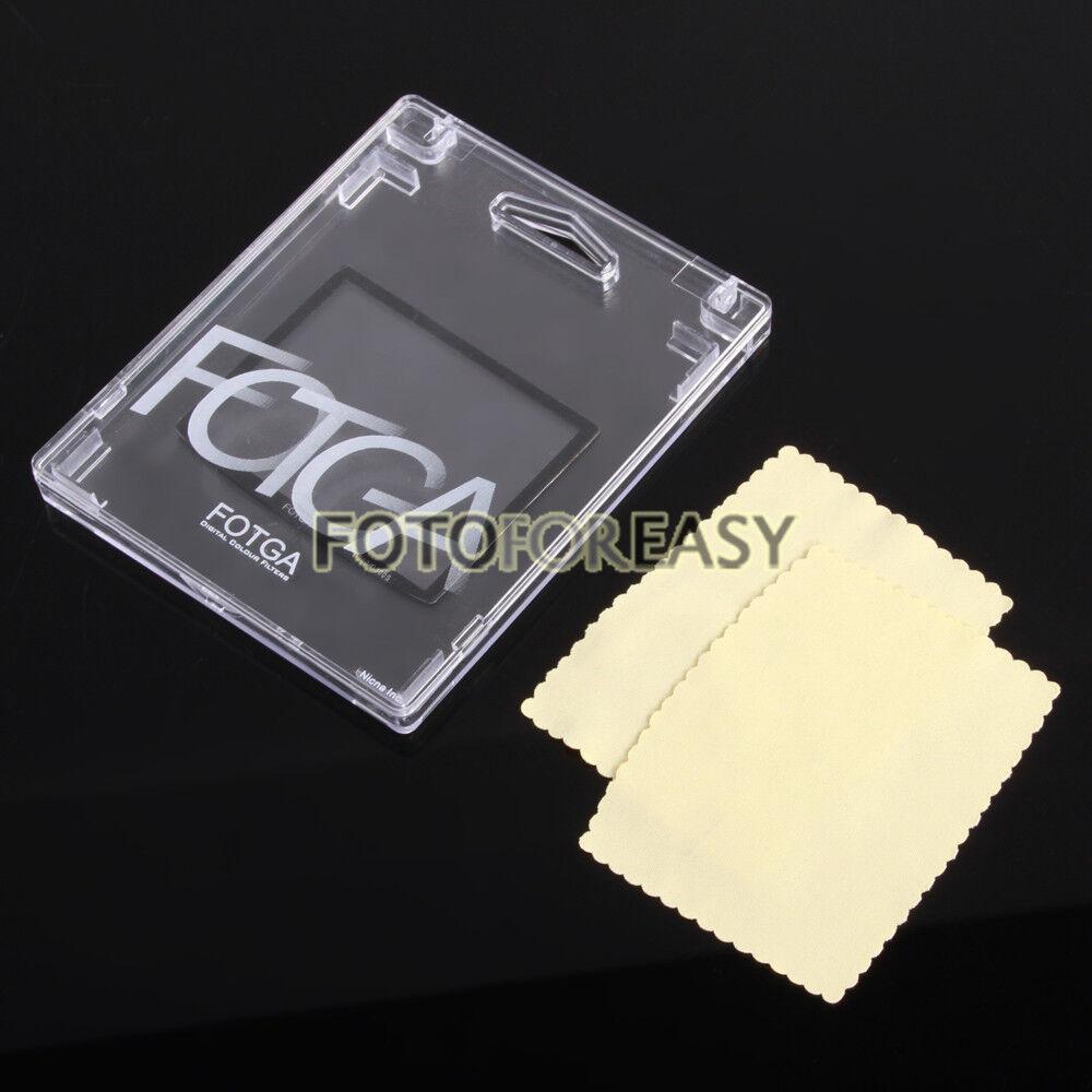 FOTGA Pro LCD Screen Protector Hard Optical Glass for Nikon D3200 Camera