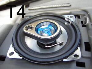 small 150w car speakers 4 ideal vw transporter t4 camper van dash board pair ebay. Black Bedroom Furniture Sets. Home Design Ideas