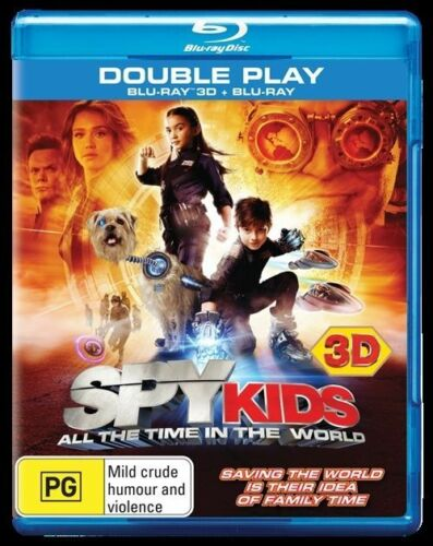 1 of 1 - Spy Kids 4 - All The Time In The World (Blu-ray, 2012)2 DISCS/BRAND NEW/SEALED