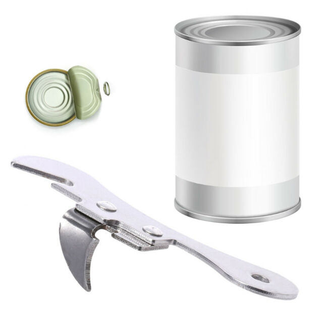 2 in1 New Wine Beer Kitchen Bottle Multi-functional Can Opener Stainless Steel