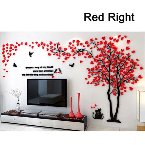 DIY 3D Wandsticker Riesiger Baum Paar Wandtattoo Wandaufkleber Zimmer Wandkunst