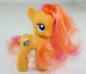 "Hasbro My Little Pony Honeybuzz MLP G4 Orange/Pink 3"" (2010)"