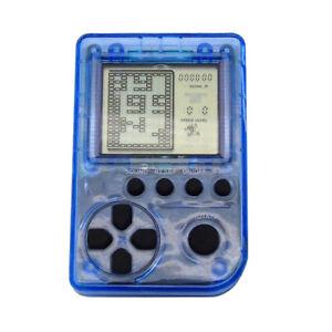 Mini-Retro-Handheld-Tetris-Classic-Game-Console-Giochi-26-incorporati-Blu