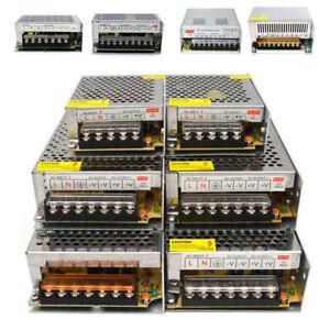 AC 100-220V à DC 12V 24V 5A 10A 15A 25A Alimentation Transformateur Pour LED