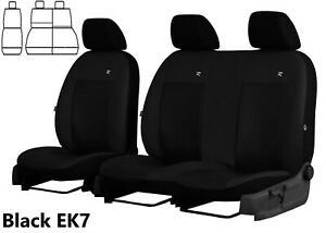CITROEN BERLINGO 2014-15-16-17-2018 ARTIFICIAL LEATHER SEAT COVERS TAILORED