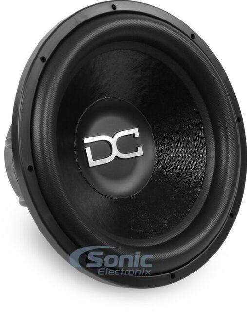 """DC AUDIO 2800W Peak 12/"""" Level 4 Series m2.1 Version Dual 1-Ohm Car Subwoofer"""