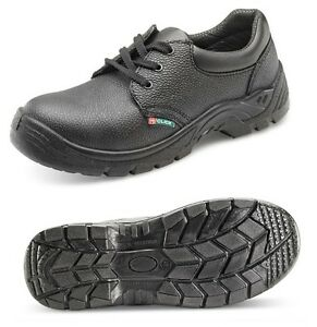 SAFETY WORK SHOES BOOTS LEATHER STEEL