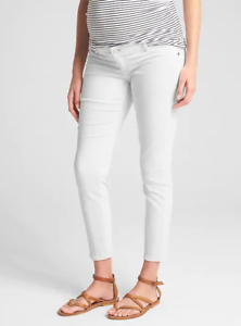 Gap Maternity NEW NWT Maternity Inset Panel Knit Favorite Ankle Jeggings $74
