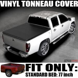 Hidden Snap Vinyl Tonneau Cover 97 03 F150 Flareside Standard