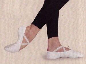 a9427a41f5b NEW BOX Men s CAPEZIO CANVAS SPLIT SOLE BALLET Shoes White Romeo ...