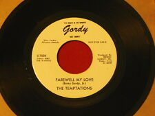 "The Temptations - May I Have This Dance / Farewell My Love - Promo 7"" 45 Vinyl"