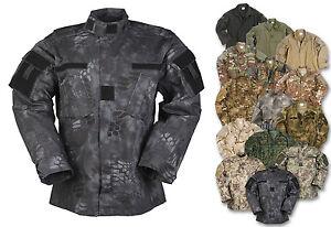 Mil-Tec US Feldjacke ACU RS Tarnjacke Jacke Freizeitjacke Outdoorjacke S-XXL