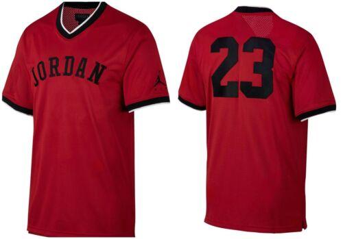 Ar0028 malla 887232835590 Jordan Rojo negro o hombre Camiseta nuevo tama de Nike 687 2xl Gym para vqFwwZn5O