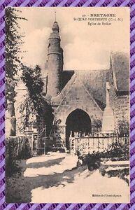 Tarjeta-Postal-St-QUAY-PORTRIEUX-La-iglesia-de-Brehat